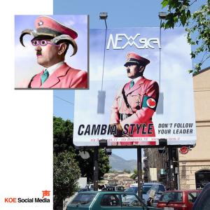 Cabronazi-copia-campaña-italiana-koe social media